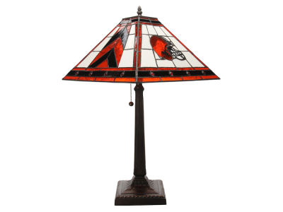 Cleveland Browns Memory Company Stained Glass Mission Lamp