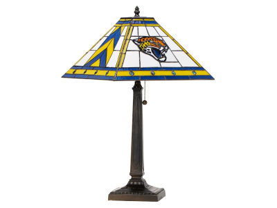Jacksonville Jaguars Memory Company Stained Glass Mission Lamp