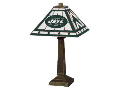 New York Jets Memory Company Stained Glass Mission Lamp