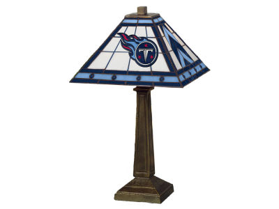 Tennessee Titans Memory Company Stained Glass Mission Lamp