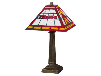 Washington Redskins Memory Company Stained Glass Mission Lamp
