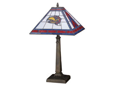 Kansas Jayhawks Memory Company Stained Glass Mission Lamp