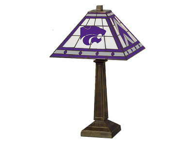 Kansas State Wildcats Memory Company Stained Glass Mission Lamp