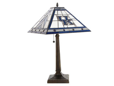Kentucky Wildcats Memory Company Stained Glass Mission Lamp