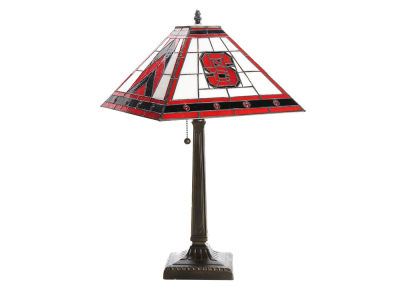 North Carolina State Wolfpack Memory Company Stained Glass Mission Lamp