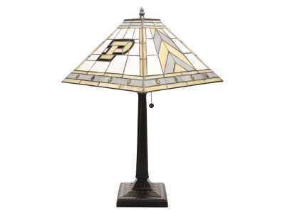Purdue Boilermakers Memory Company Stained Glass Mission Lamp