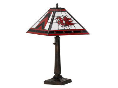 South Carolina Gamecocks Memory Company Stained Glass Mission Lamp