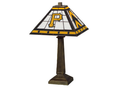 Pittsburgh Pirates Memory Company Stained Glass Mission Lamp