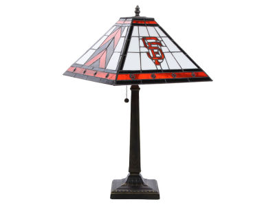 San Francisco Giants Memory Company Stained Glass Mission Lamp