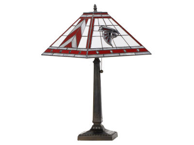 Atlanta Falcons Memory Company Stained Glass Mission Lamp