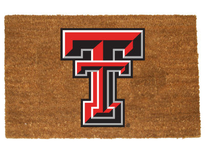 Texas Tech Red Raiders Memory Company Colored Logo Door Mat