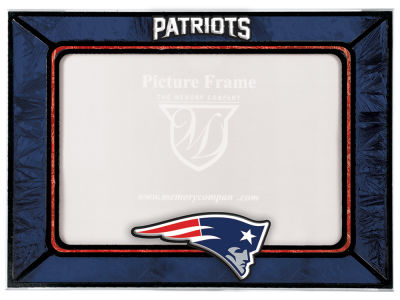 New England Patriots Memory Company Horizontal Art Glass Frame