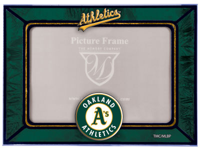 Oakland Athletics Memory Company Horizontal Art Glass Frame