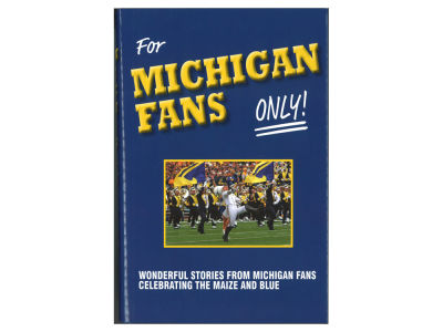 Michigan Wolverines NCAA For Michigan Fans Only Book