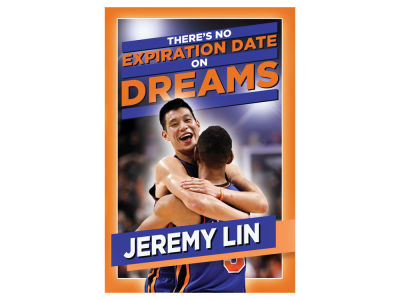 New York Knicks NBA Jeremy Lin:No Expiration Date on Dreams Book