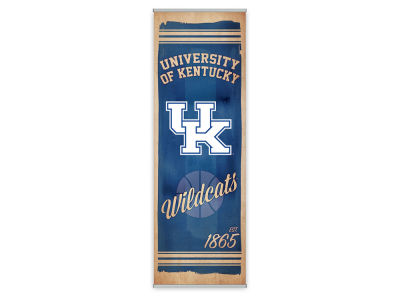 Kentucky Wildcats ScoreArt NCAA Watercolor FanPanel
