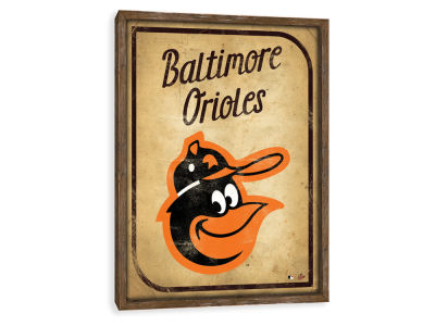 Baltimore Orioles ScoreArt MLB Vintage Card Recessed Box Wall Decor