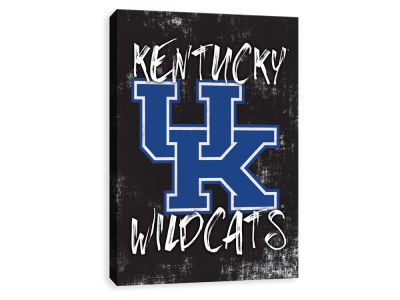 Kentucky Wildcats ScoreArt NCAA Grunge Printed Canvas