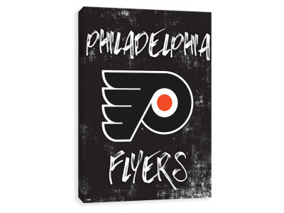 Philadelphia Flyers ScoreArt NHL Grunge Printed Canvas