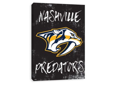 Nashville Predators ScoreArt NHL Grunge Printed Canvas