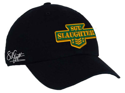 SGT Slaughter WWE Classic CLEAN UP Cap