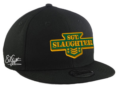 SGT Slaughter WWE Custom 9FIFTY Snapback Cap