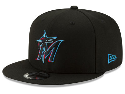 Miami Marlins New Era MLB Basic 9FIFTY Snapback Cap