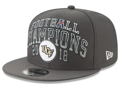 University of Central Florida Knights New Era 2018 NCAA AAC Football Champ 9FIFTY Snapback Cap