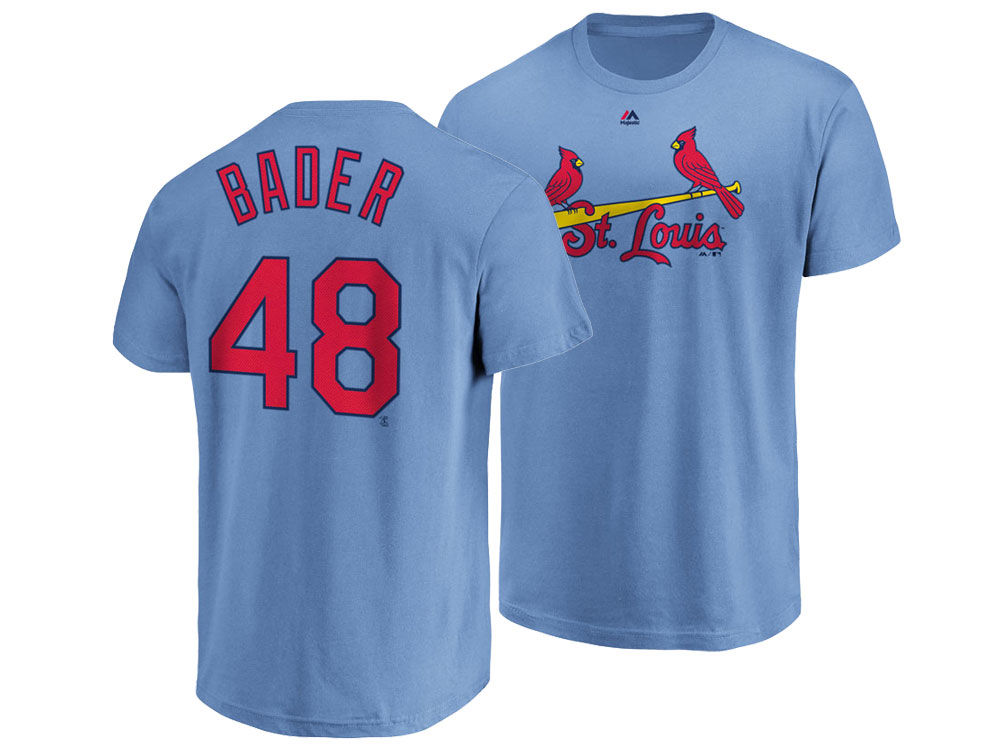 St. Louis Cardinals Harrison Bader Majestic MLB Men s Official Player T- Shirt  1c988173c