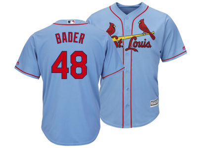 St. Louis Cardinals Harrison Bader MLB Men's Player Replica Cool Base Jersey