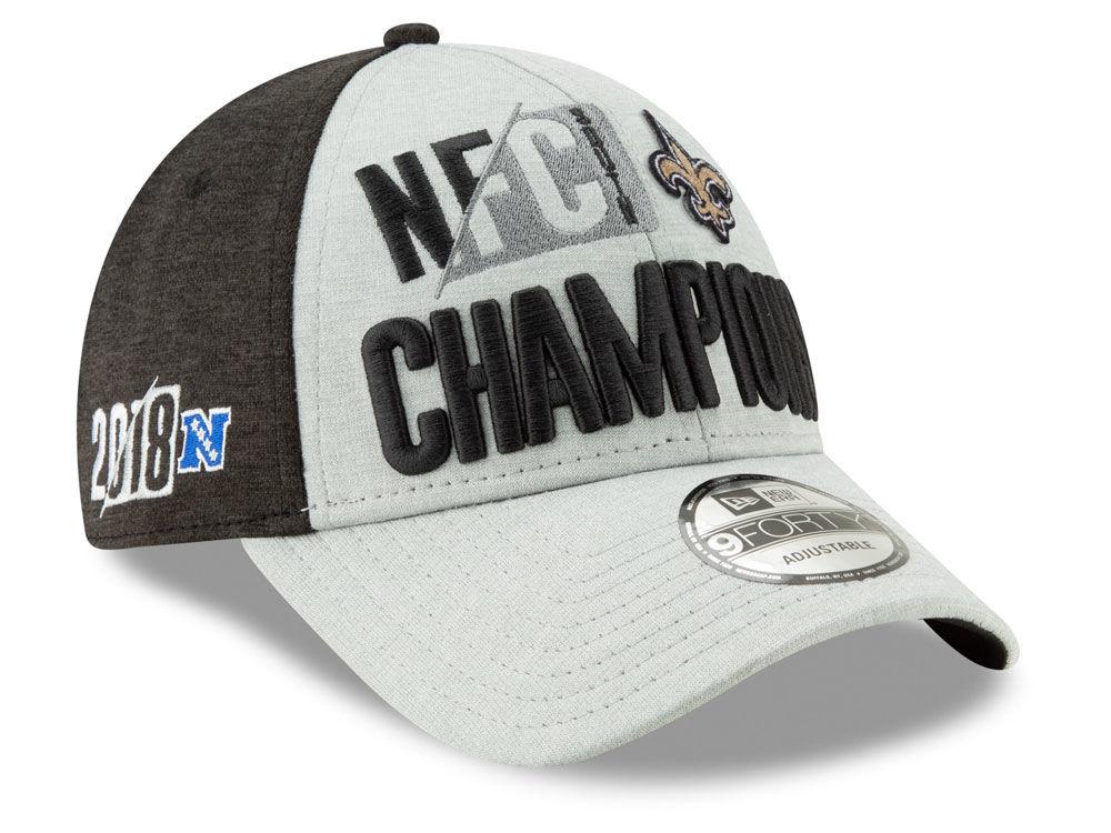New Orleans Saints New Era 2018 NFL Division Champ 9FORTY Cap  371c1d8a4914
