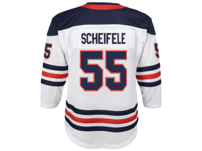 Winnipeg Jets Mark Scheifele adidas NHL Men's Authentic Player 40th Heritage Jersey