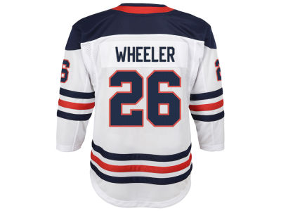 c78565f42 Winnipeg Jets Blake Wheeler adidas NHL Men s Authentic Player 40th Heritage  Jersey