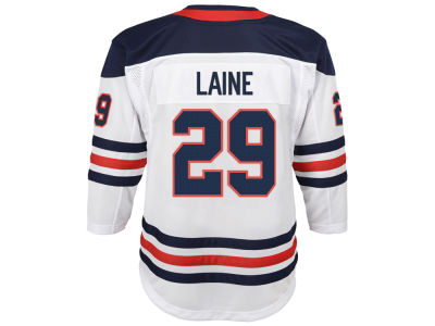 Winnipeg Jets Patrik Laine adidas NHL Men's Authentic Player 40th Heritage Jersey