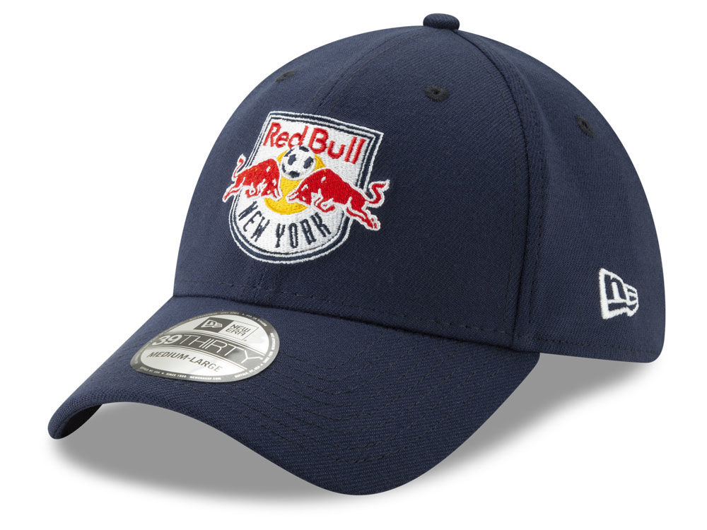 New York Red Bulls New Era MLS Team Classic 39THIRTY Cap  3ee1c4a10a9