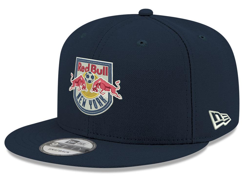 fd7b1358698 New York Red Bulls New Era MLS Kids Core 9FIFTY Snapback Cap