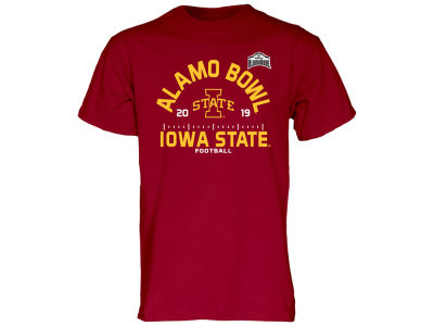 Iowa State Cyclones Blue 84 2019 NCAA Men's Bowl Bound Scrimmage Line T-Shirt