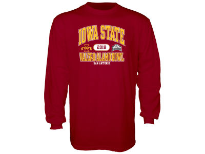 Iowa State Cyclones Blue 84 2019 NCAA Men's Bowl Bound Long Sleeve T-Shirt