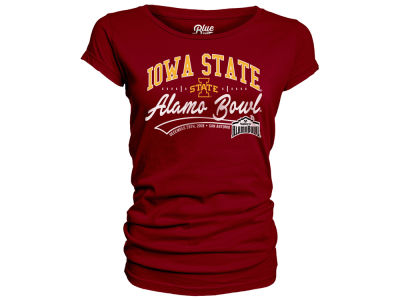 Iowa State Cyclones Blue 84 2019 NCAA Women's Bowl Bound Scrimmage Line T-Shirt