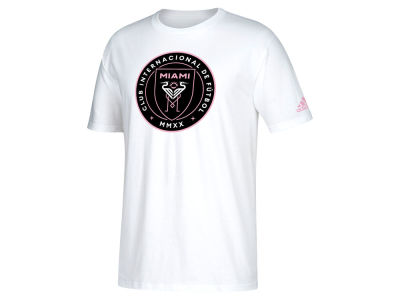 Inter Miami adidas MLS Men's Crest T-Shirt