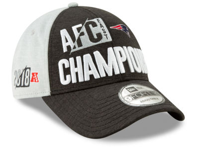 hot sale online f6c2d 5b530 New England Patriots New Era 2018 NFL Division Champ 9FORTY Cap