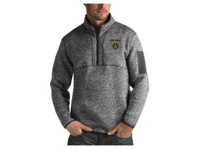 Atlanta United FC Antigua 2018 MLS Men's Champ Fortune Quarter Zip Pullover