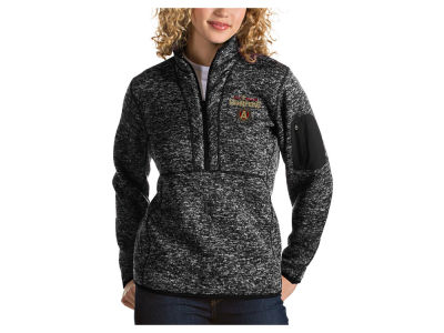 Atlanta United FC Antigua 2018 MLS Women's Champ Fortune Quarter Zip Pullover
