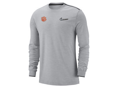 Clemson Tigers Nike 2018 NCAA Men's College Football Playoff Coaches Long Sleeve T-Shirt