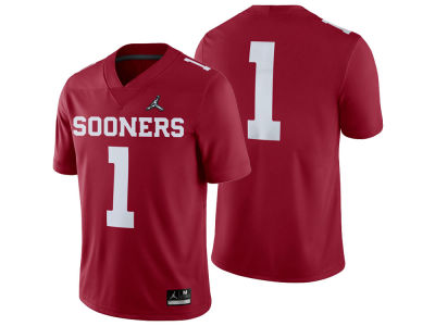 Oklahoma Sooners Jordan 2019 NCAA Men's College Football Playoff Game Jersey