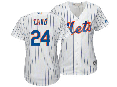 New York Mets Robinson Cano Majestic MLB Women's Cool Base Player Replica Jersey