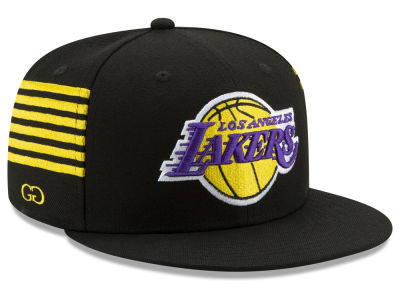 Los Angeles Lakers New Era NBA X Grungy Gentleman 59FIFTY Cap