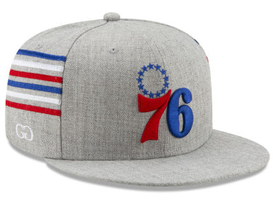 Philadelphia 76ers New Era NBA X Grungy Gentleman 59FIFTY Cap
