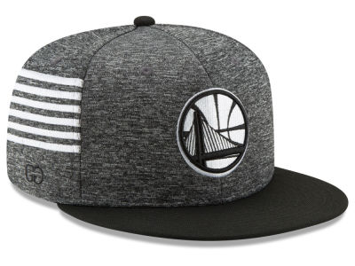 Golden State Warriors New Era NBA X Grungy Gentleman 9FIFTY Snapback Cap