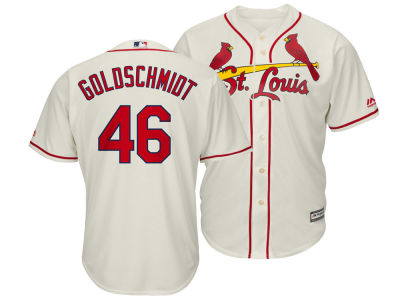 St. Louis Cardinals Paul Goldschmidt Majestic MLB Men's Player Replica Cool Base Jersey